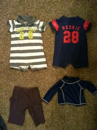 BOYS 0-3 MONTHS CLOTHING LOT $30 for 27 PIECES!!!! Saraland, 36571