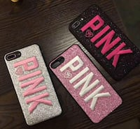 Designer Embroidered PINK Cases — Spring Into Bling For Your Phone -- Sioux Falls, 57107