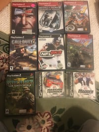 PlayStation 2 Games  Myersville, 21773