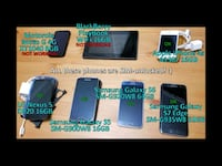 bundle of 5 working unlocked cellphones Toronto, M6C 3V2