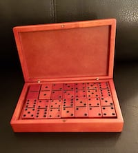 Wooden dominoes with wooden box Wichita, 67208