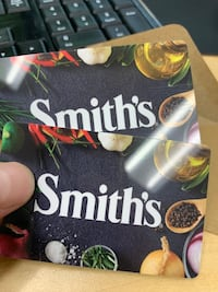 Smiths Gift Cards $50, $25 each Send me an offer!!  North Las Vegas, 89081
