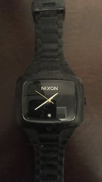 Black Nixon watch...