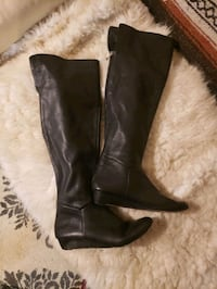 Genuine leather boots from Town Shoes