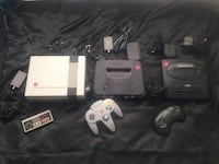 Video Game console blowout #2- Nintendo NES, Nintendo 64, Sega Genesis- $100 for all 3- FIRM- only today Royal Oaks, 95076