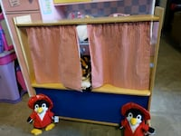 Puppet theater @ clic klak used toy warehouse  Mississauga, L4X 2S3