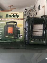 Green and black buddy portable propane heater with box Johnson City, 37601