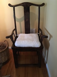 Tall back arm chair Purcellville