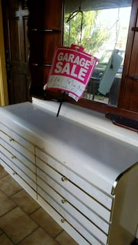 white and black wooden cabinet Hialeah, 33012