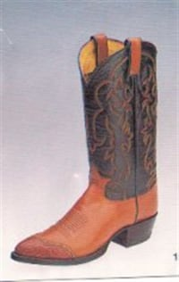 NEW Tony lama LIZARD TIP BOOTS several sizes