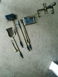 5 Pcs fire place tools Fairfax, 22032