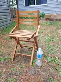 brown wooden rocking chair with ottoman Haliburton County, K0M 1J2