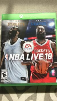 NBA Live 18 for Xbox One Gurnee, 60031