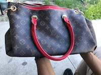 brown Louis Vuitton monogram leather handbag Las Vegas, 89102
