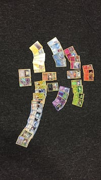 Pokemon trading card collection