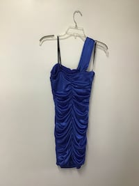 Women's CITY TRIANGLE royal blue one shoulder dress size-medium Manasquan, 08736