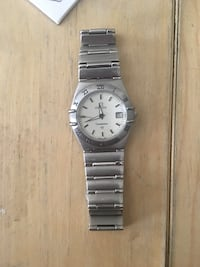 Stainless steel omega constellation watch Toronto, M4R 2A3