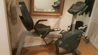 black and gray recumbent stationary bike Richmond Hill, L4E