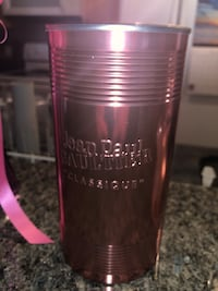 Pink perfume Can
