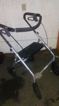 black and gray rollator walker Surrey, V3W