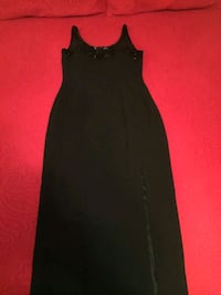 Vintage Black Dress with beads.  Chicago, 60609