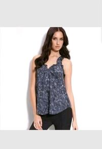 100% Silk Rebecca Taylor sequin top Windermere, 34786