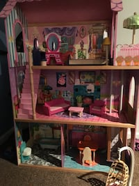 pink and white doll house Washington, 20011