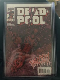Deadpool rare and key comics