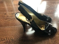 Women's Size 6 - Black Patent Leather Heels Toronto, M6K 1G6