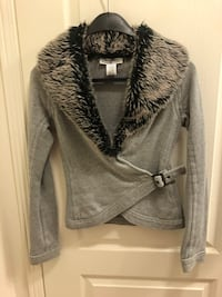 Parasuco Fur Sweater, XXS, Grey $75 Toronto
