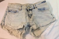 Small Denim shorts size 3