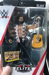 Wwe elite series 60 Elias new never opened sealed yours for 40.00 Medford, 02155