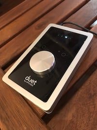 Apogee Duet 2 (missing breakout cable... you can buy the cable on amazon for 60). Toronto, M5A 2R1