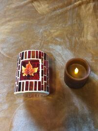 New Fall Candleholder and Timer Candle  Hampton, 23663