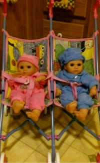 Collectible twins/stroller