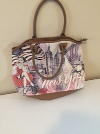 New York woman purse