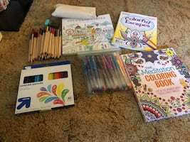 Adult Coloring Lot