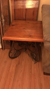 brown wooden single drawer side table Tucson, 85713