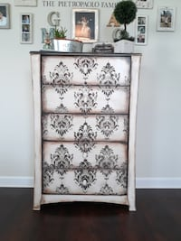 CHEST - DRESSER TALLBOY NEW Winter Garden
