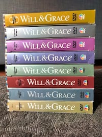 Will & Grace (Complete 8 seasons on DVD) Germantown, 20874
