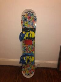 Burton 50 inch snowboard with boots and helmet Charles Town, 25414
