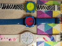 Several assorted-color Swatch watches New Ulm, 78950