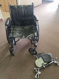 Wheelchair with removable leg attachments  Santa Ana, 92701