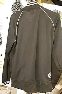 black and white zip-up jacket Victoria, V8T 1W6