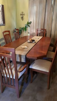 Dining table with 8 chairs Dorval, H9S 5W6