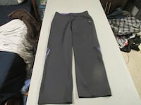 Womens Grey Adidas Pants Size Large Fort Saskatchewan