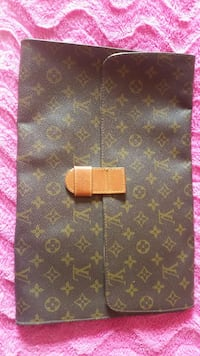 louis vuitton marrone borsa monogramma