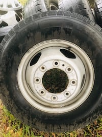 """""""6 """"Set of rims and tires Carriere, 39426"""