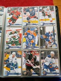 nine assorted ice hockey trading cards Toronto, M1R 3C3