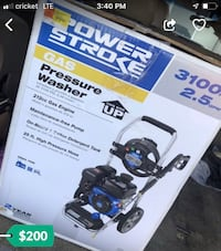 Power stroke pressure washer